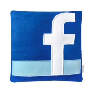 coussin geek facebook