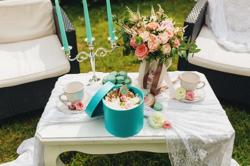 table été romantique