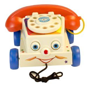 telephone jouet vintage