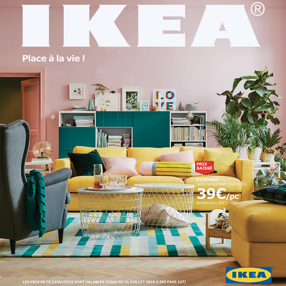 La collection ikea 2018 arts d co for Catalogue deco