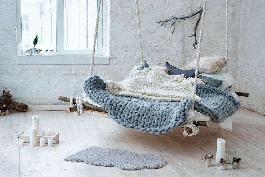 Le fauteuil suspendu, un cocon dans votre maison