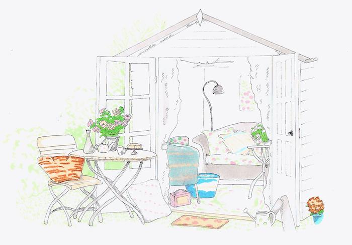 maison jardin cosy