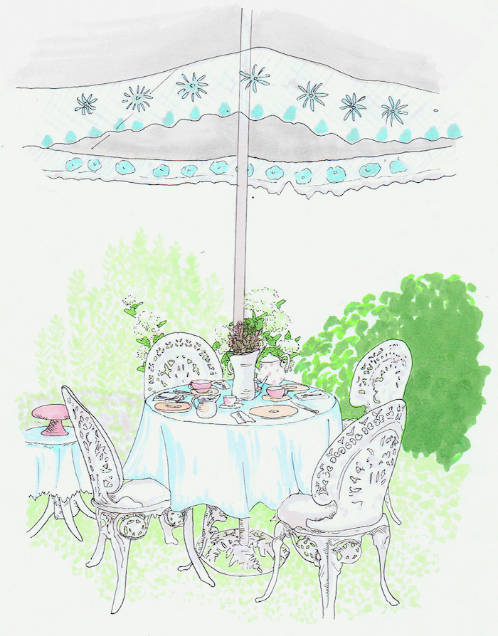 table jardin cosy