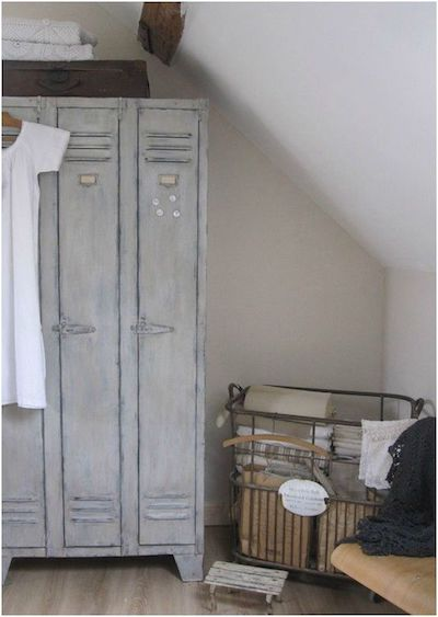 vestiaire armoire recup