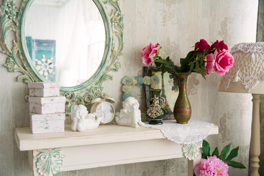 Le miroir comme décoration murale