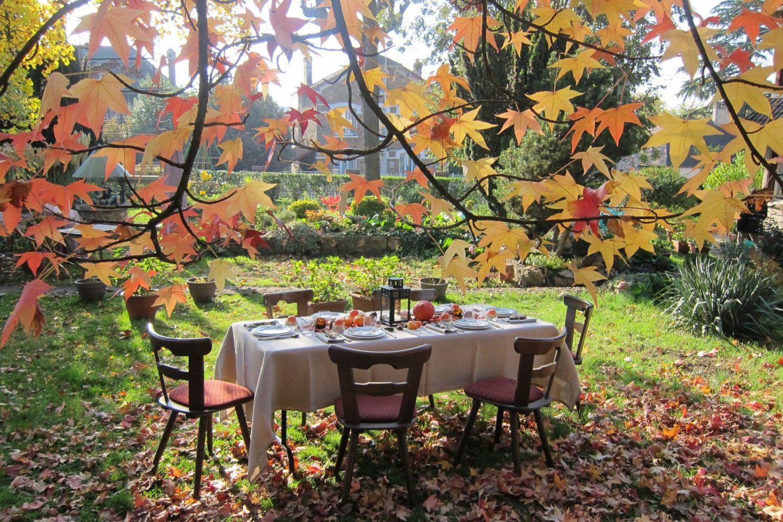 Idées de décoration de table d'automne