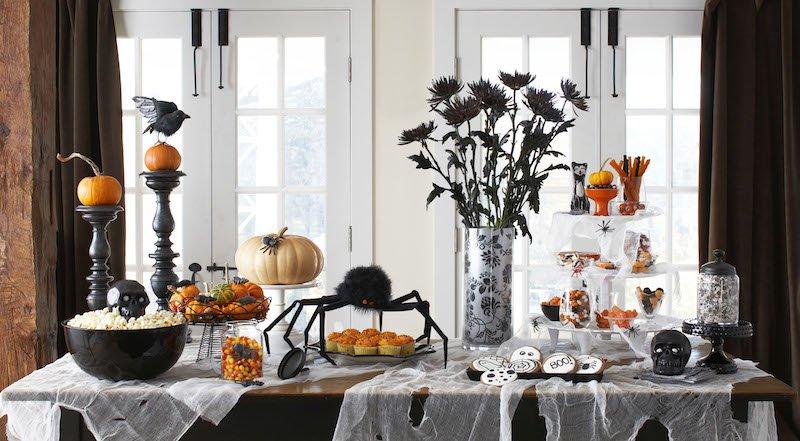 Une décoration de table pour Halloween