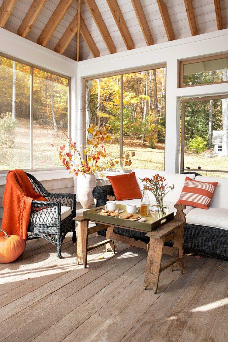 Décoration aux couleurs de l'automne