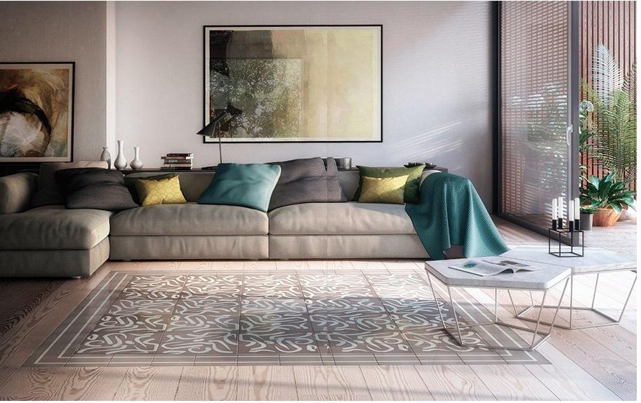 tapis ceramique