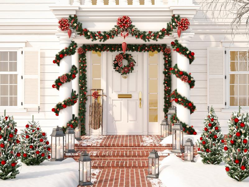 Noël à sa porte