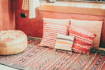 pouf marocain décoration