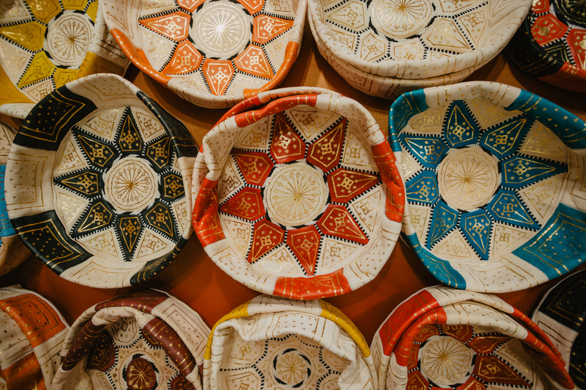 Le pouf marocain