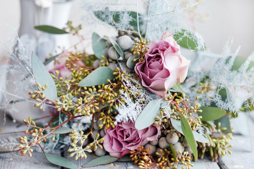 Déco florale : les fleurs de l'hiver