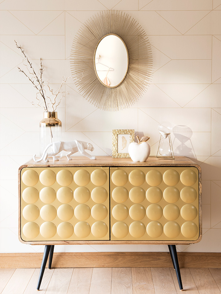 décoration dorée