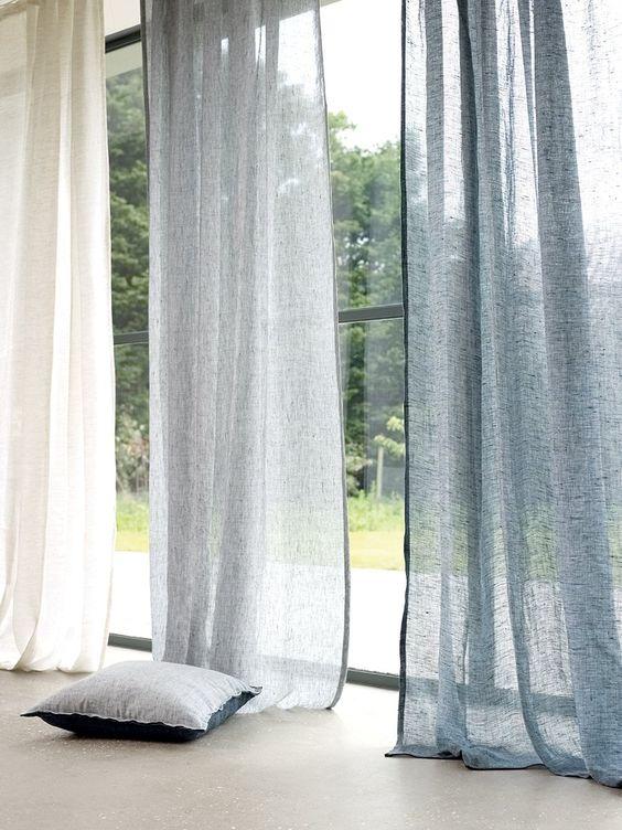 Changer la couleur de ses rideaux pour une nouvelle ambiance