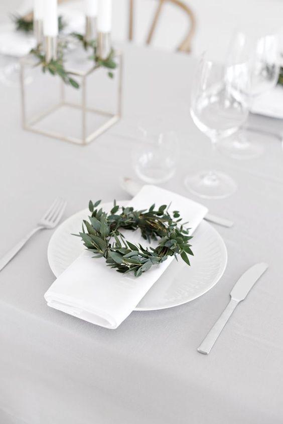 décoration table noel diy