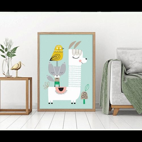 affiche lama