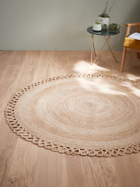 tapis rond juste