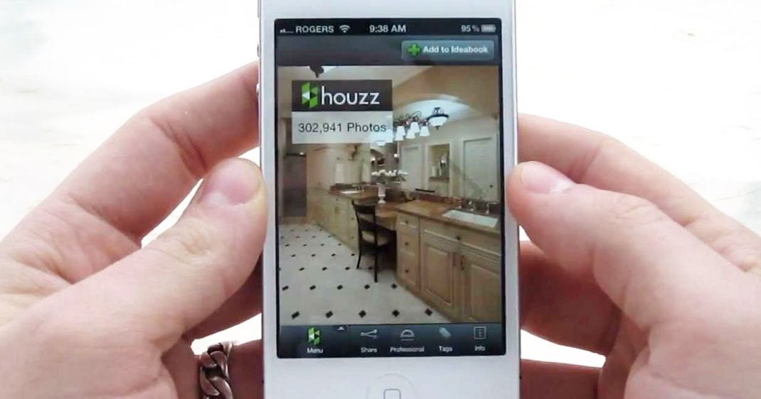 Houzz l'application iPhone de décoration