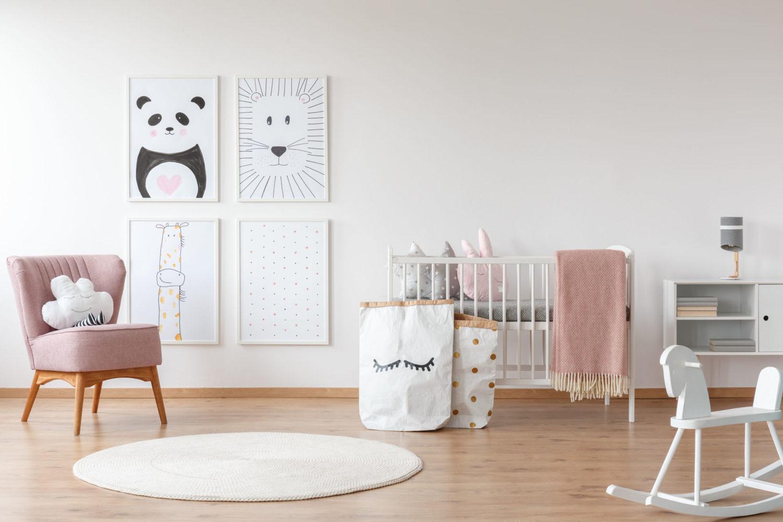 3 astuces pour une déco sobre pour la chambre de bébé