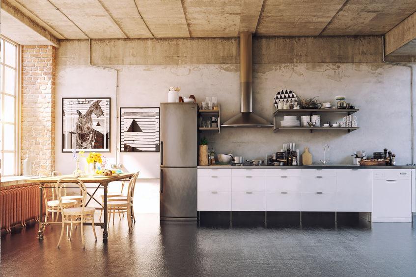 déco style atelier cuisine