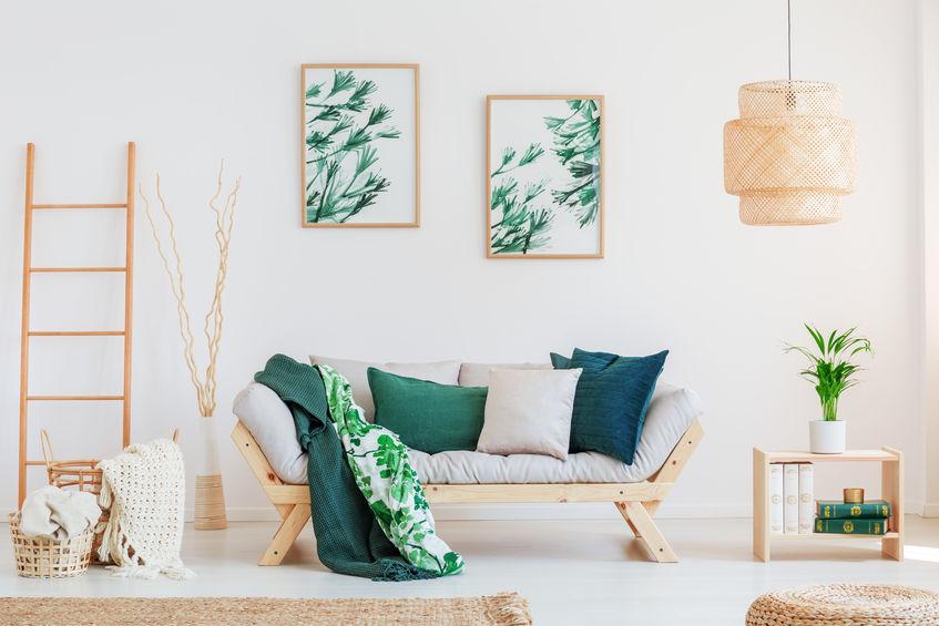 échelle bambou