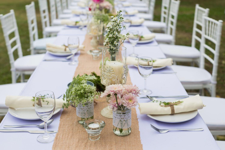 Déco table de jardin : 3 astuces