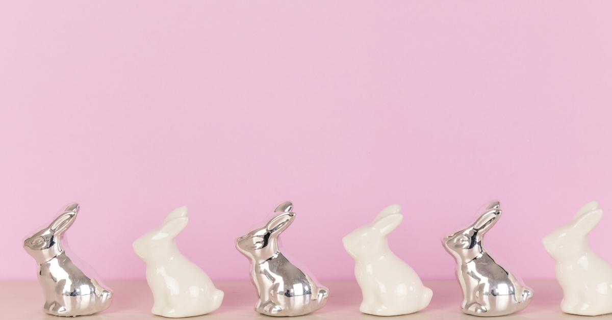 6 idées déco de Pâques dans un style minimaliste