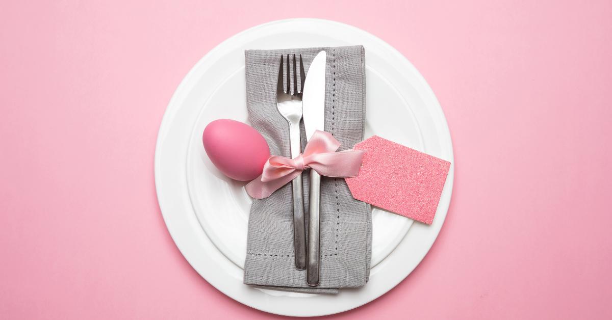 Style minimaliste mais maxi effet pour votre table de Pâques !