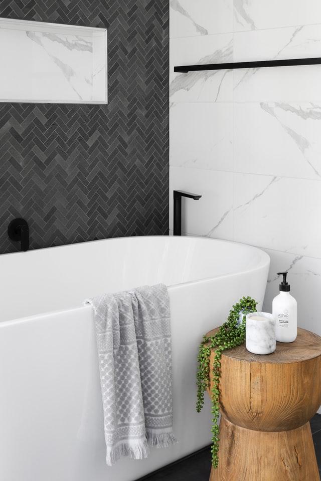 décoration salle de bain carrelage